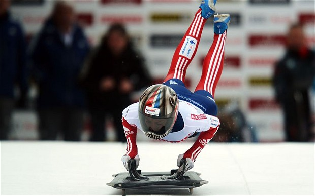 Britain's Shelley Rudman wins world skeleton gold after blitzing her rivals in St Moritz