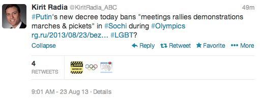 "BREAKING: Putin ""terror"" decree bans meetings, protests at Olympics"