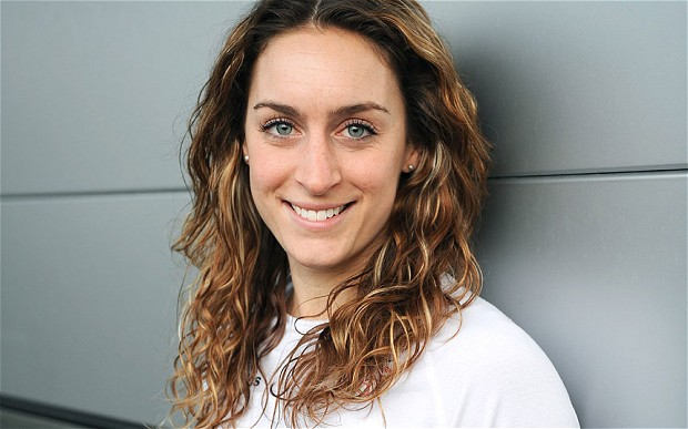 Olympic skeleton bob champion Amy Williams still feels the need for speed