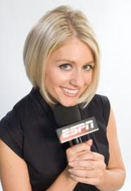 Crystal Palace fan Rebecca Lowe new Olympic host, replacing Michelle Beadle?