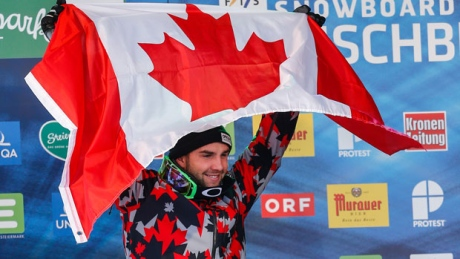 Kevin Hill gives Canada silver at snowboard cross worlds
