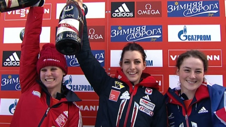 Calgary's Vathje wins silver at skeleton World Cup in St. Moritz