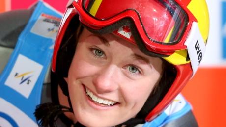 Taylor Henrich makes ski jumping history