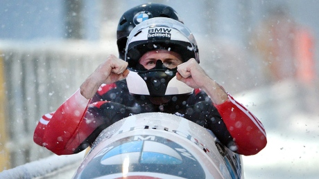Canada's Justin Kripps, Barnett 10th in World Cup bobsleigh