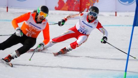 IPC alpine skiing worlds: Super-G