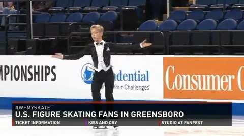 U.S. Figure Skating Championship Fans Gracing Greensboro