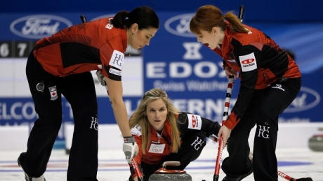 Canada's Jones hits world curling playoffs on high note