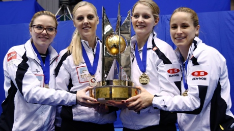 Swiss defeat Canada 5-3 to win women's world curling championship