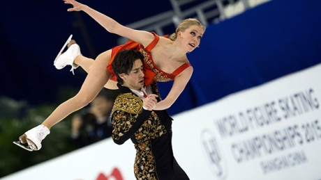 Canada's Weaver and Poje 2nd in ice dance after short program