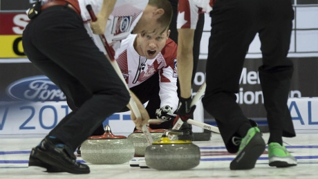 Canada falls to Sweden in semifinal of men's curling worlds