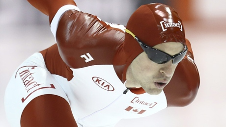 Olympic speed skater Denny Morrison injured in motorcycle crash