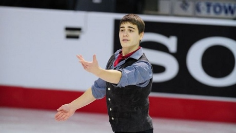 Canada's Nadeau nabs silver at figure skating Junior Grand Prix