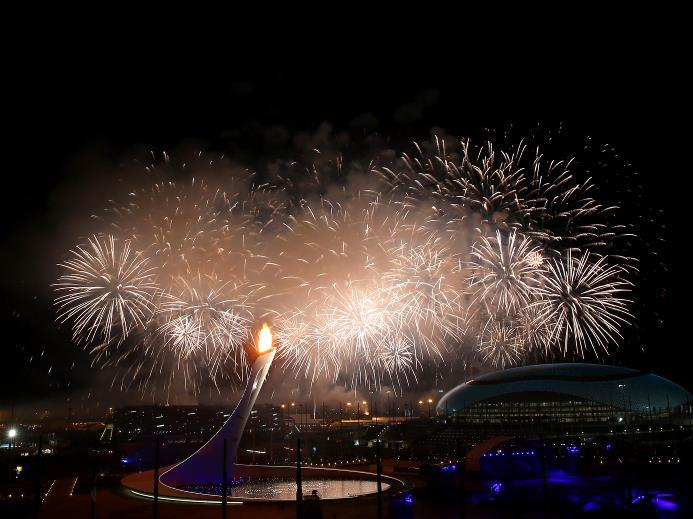 Sochi 2014 opening ceremony with mega stunts attracts spectators and viewers