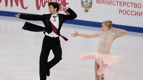 Weaver, Poje tops in short program at Rostelecom Cup