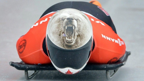Canada's Martineau makes transition from skis to skeleton