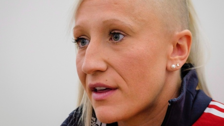 Does Kaillie Humphries deserve to compete in men's bobsleigh?