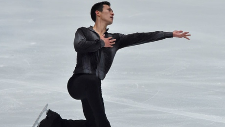 Patrick Chan ticketed for Grand Prix Final