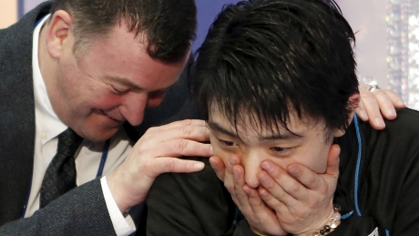 Behind the Boards: Japan's Hanyu smashes magical 300-point mark