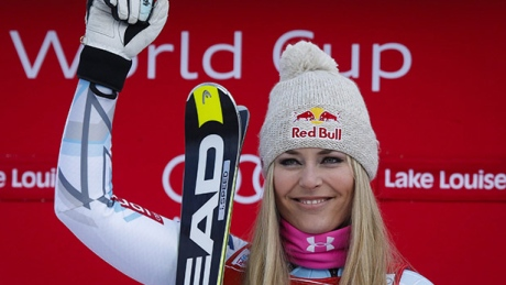 Lindsey Vonn's World Cup wins by venue