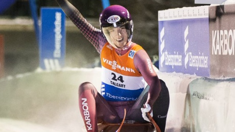 Canada's Kim McRae, luge doubles team post 5th place results in Calgary