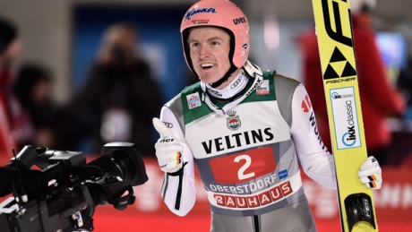 Germany's Severin Freund flies to Four Hills Tour ski jumping victory
