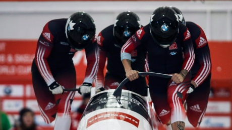 Kaillie Humphries to pilot women's crew against men in World Cup bobsleigh