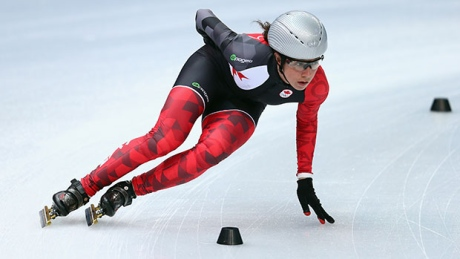 Canadian short track championships: Marie-Eve Drolet back after giving birth