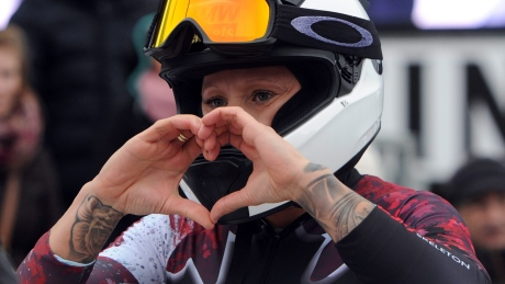 Kaillie Humphries wins World Cup bobsleigh gold