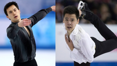 Chan, Nguyen go head to head at Canadian figure skating championships