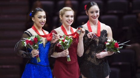 Canadian figure skating team named for world championships