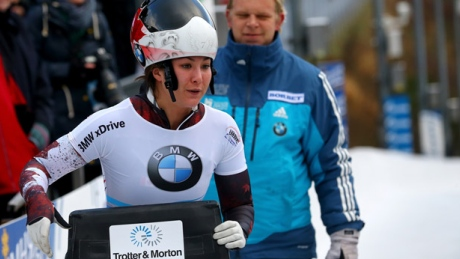 Rising Canadian skeleton star Jane Channell inspired by Vancouver Olympics