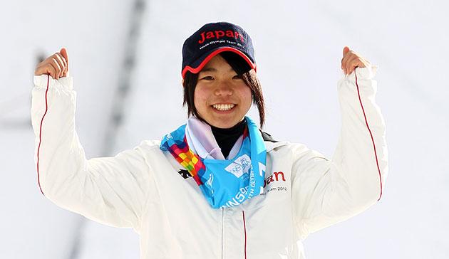 Sara Takanashi soars for the stars