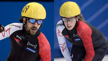 Canada's short track power couple strike gold at World Cup