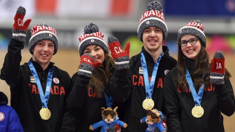 Canada crushes curling foes to win gold at Youth Olympics
