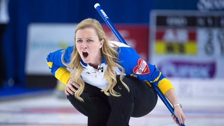 Carey earns playoff advantage for Alberta at Scotties curling championship