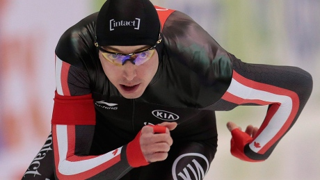 Canadians trail after 1st heat at speed skating world sprints
