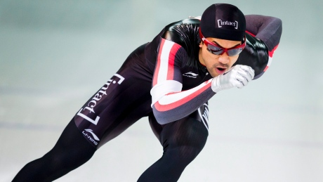 Gilmore Junio wins bronze at long track World Cup finals