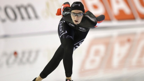 Canada's Blondin is runner-up for overall mass start speed skating title