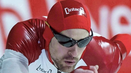 Speed skater Morrison to compete for 1st time since motorcycle crash