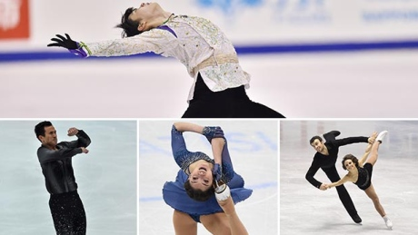 Yuzuru Hanyu, Evgenia Medvedeva have clear paths to world titles