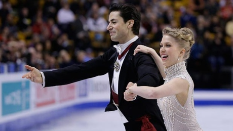 Canadian ice dancers Weaver, Poje 4th after short skate at worlds
