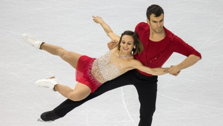 Duhamel, Radford in 2nd at figure skating worlds after pairs short