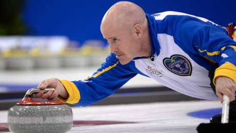 Kevin Koe, Canada remain unbeaten at men's curling worlds