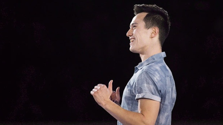 Canadian figure skaters show new looks at pre-season camp