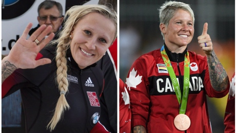 From the rugby pitch to the bobsleigh track: Could Jen Kish team up with Kaillie Humphries?