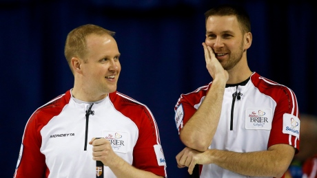 Skip Mark Nichols and Team Gushue move to 3-0 at Grand Slam of Curling