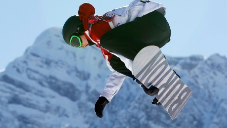Mark McMorris finishes 3rd in return to Big Air competition