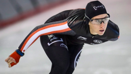 Ivanie Blondin overcomes virus to earn silver in long track mass start