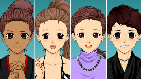 What if Canadian figure skaters were anime characters?