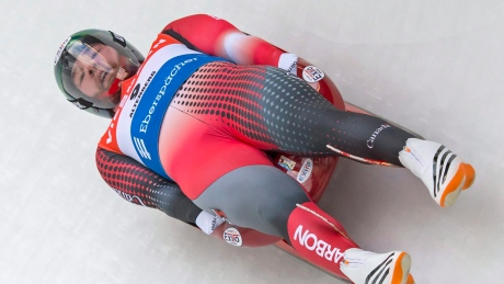 Slow start hurts Mitchel Malyk at luge World Cup